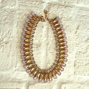 Jcrew collar rhinestone necklace